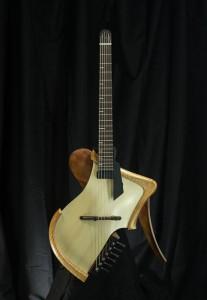 Matsuda guitars headless archtop
