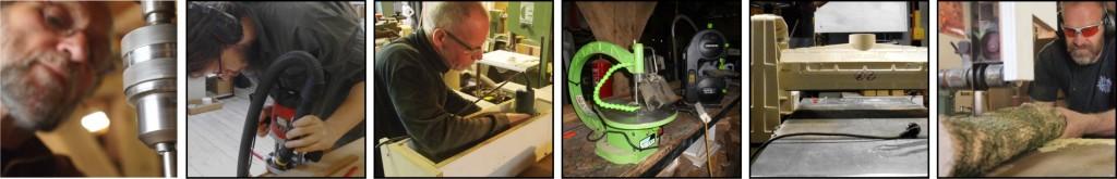 rondleidingen houtvoorraad, machine atelier, instrumentenbouw technieken
