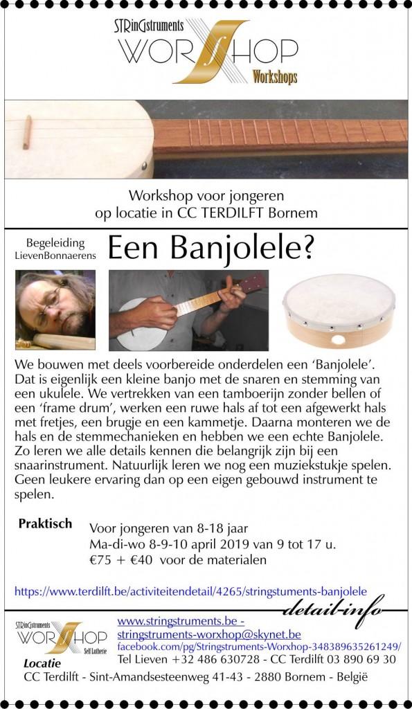 folder bouwen banjolele TERDILFT